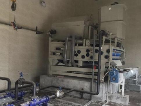 重庆某工业废水处理项目